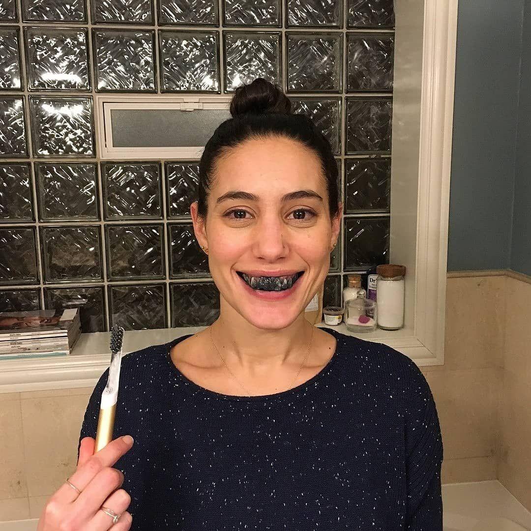 Teeth Whitening Activated Organic Charcoal Pemutih Gigi Alami