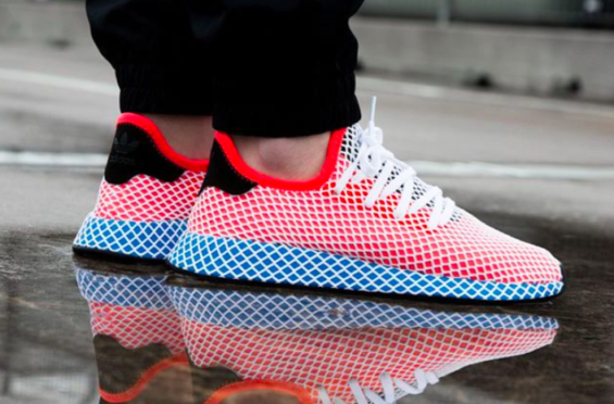 promo code 2696e d6f1f The adidas Deerupt Solar Red Blue Bird Is Perfect For 4th Of July The adidas  Deerupt