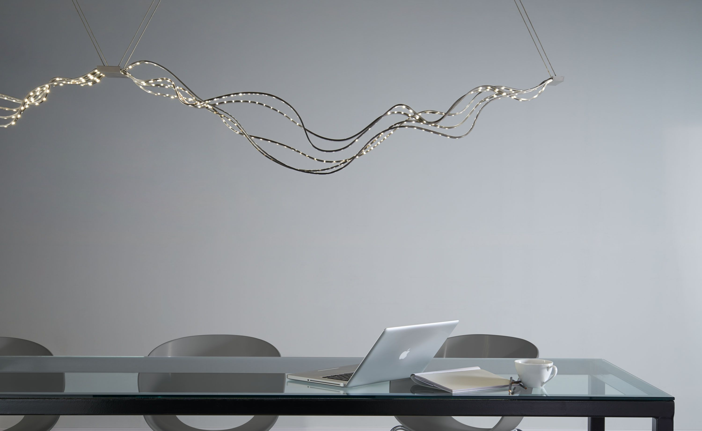 Surge Linear Suspension by Tech Lighting Linear pendant