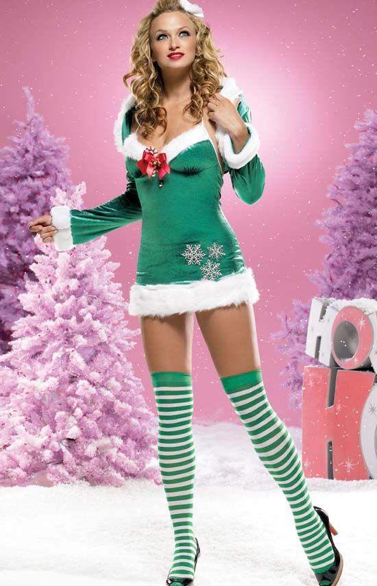 3b6ad889a65 Snowflake Elf Costume by Leg Avenue | elfs!!!!! | Elf costume ...