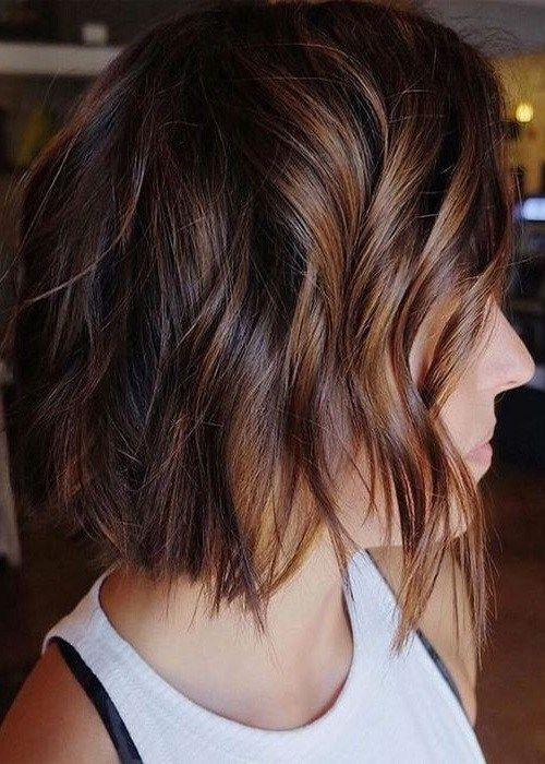 30 Fall Winter Hair Color Ideas For Short Hairstyles 2018 2019 Winter Hairstyles Hair Styles Hair Color 2018
