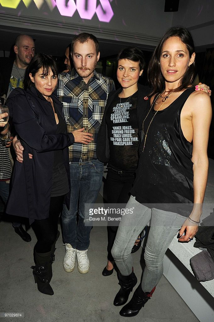 Sadie Frost, James Small, Holly Davidson and Rosemary Ferguson attend the…