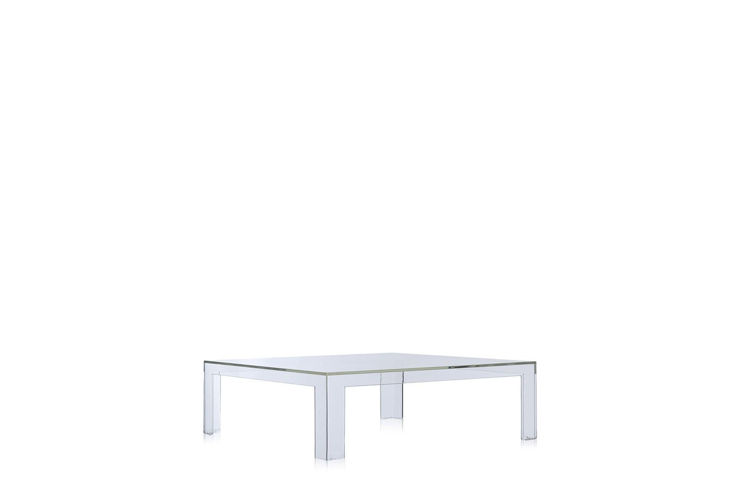 Invisible Coffee Table Transparent Crystal Coffee - Invisible coffee table