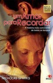 Baixar Livro Um Amor Para Recordar Nicholas Sparks Em Pdf Epub