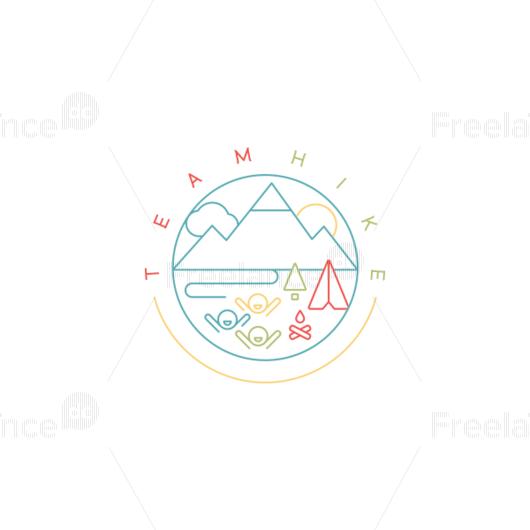 Logo, travel,  adventure,  campaign,  tourism,  forest,  mountains. #travel #adventure #campaign #tourism  #forest #mountains #team #logo #design #freelancediscount Buy a logo for $ 85.