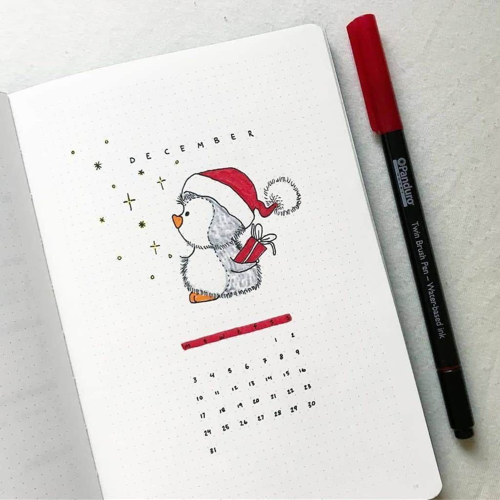 Amazing Winter Bullet Journal Theme And Page Ideas To Try This Season