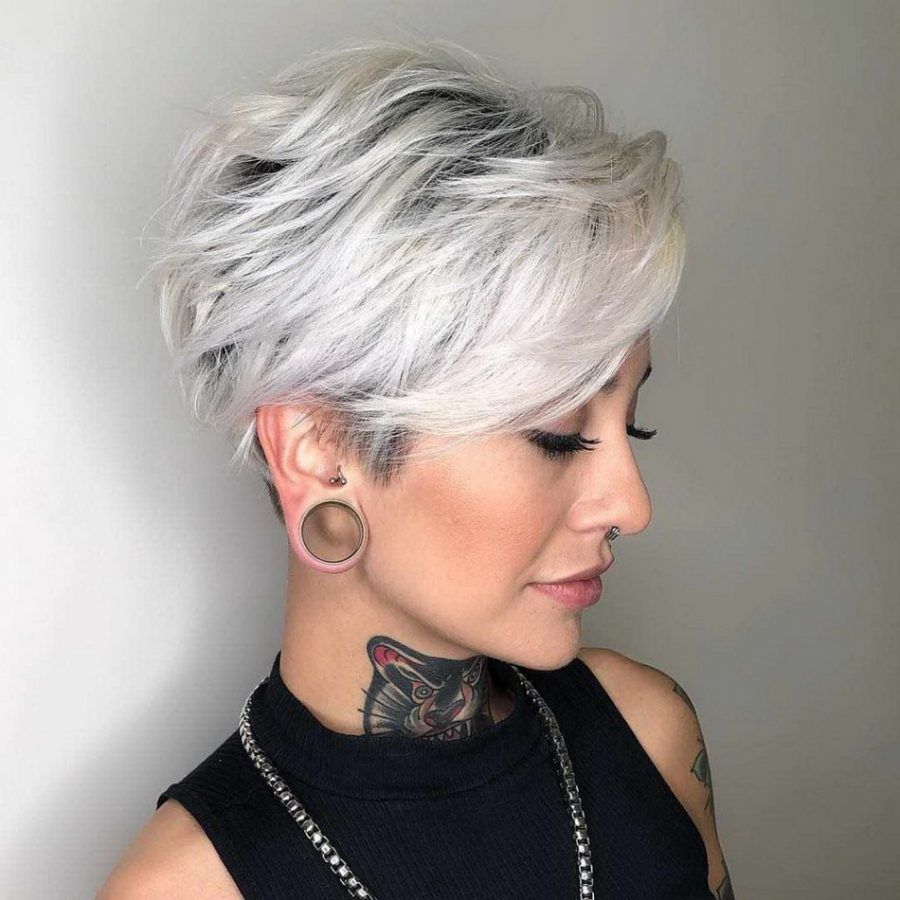 Layered Short Haircuts Short Hairstyles For Thick Hair Hair Styles Short Hair Styles
