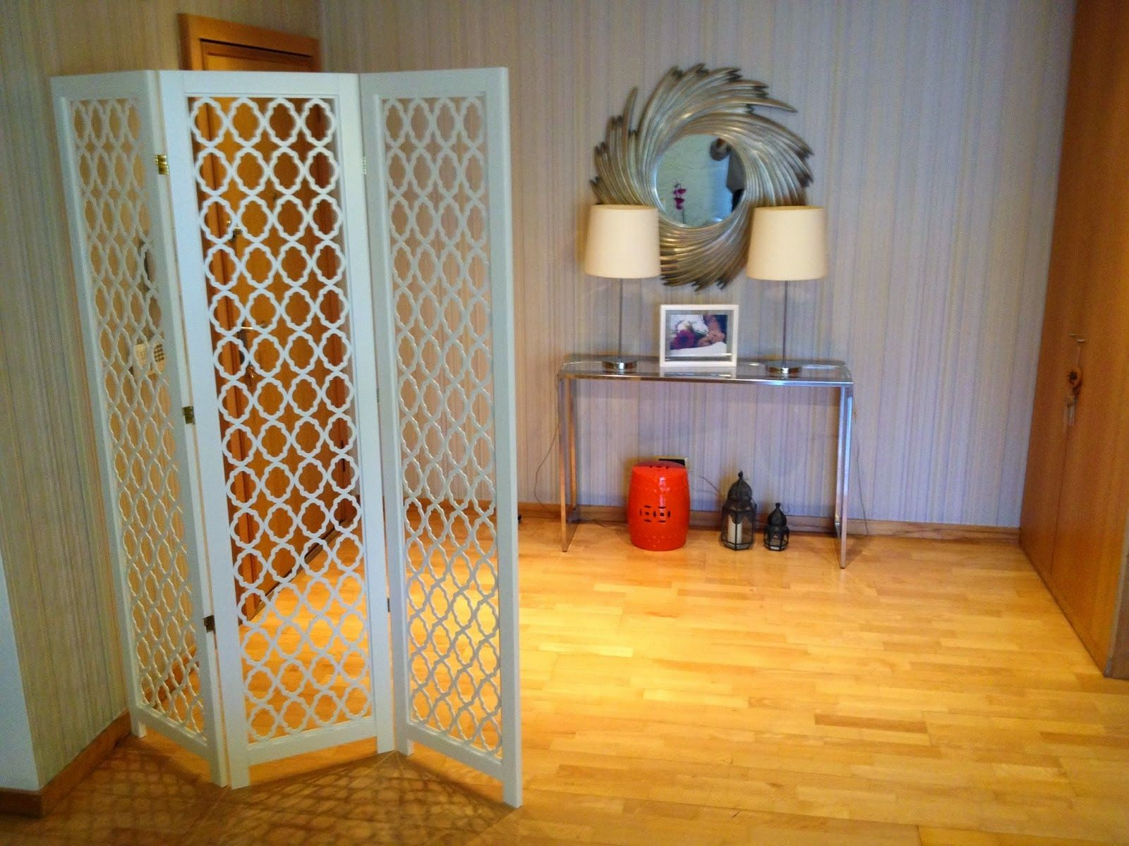 Restyling de espaços – Hall + Sala de estar + Sala de Jantar   Silvia Home Decor