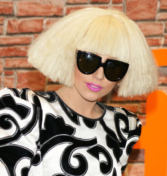 3882f6aa8f Lady Gaga Oversized Sunglasses