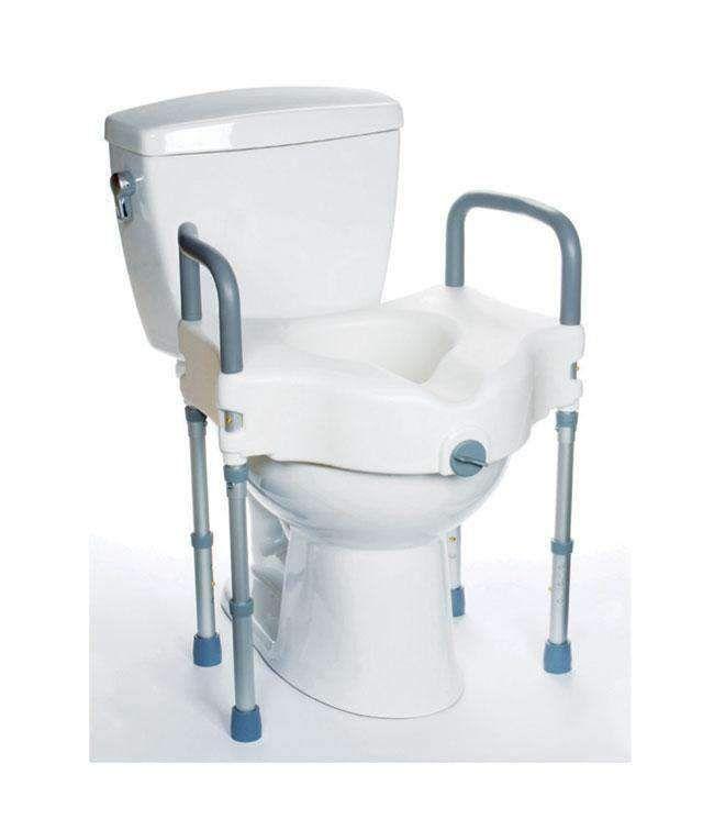 Mobb Healthcare Raised Toilet Seat With Legs In 2020 Toilet
