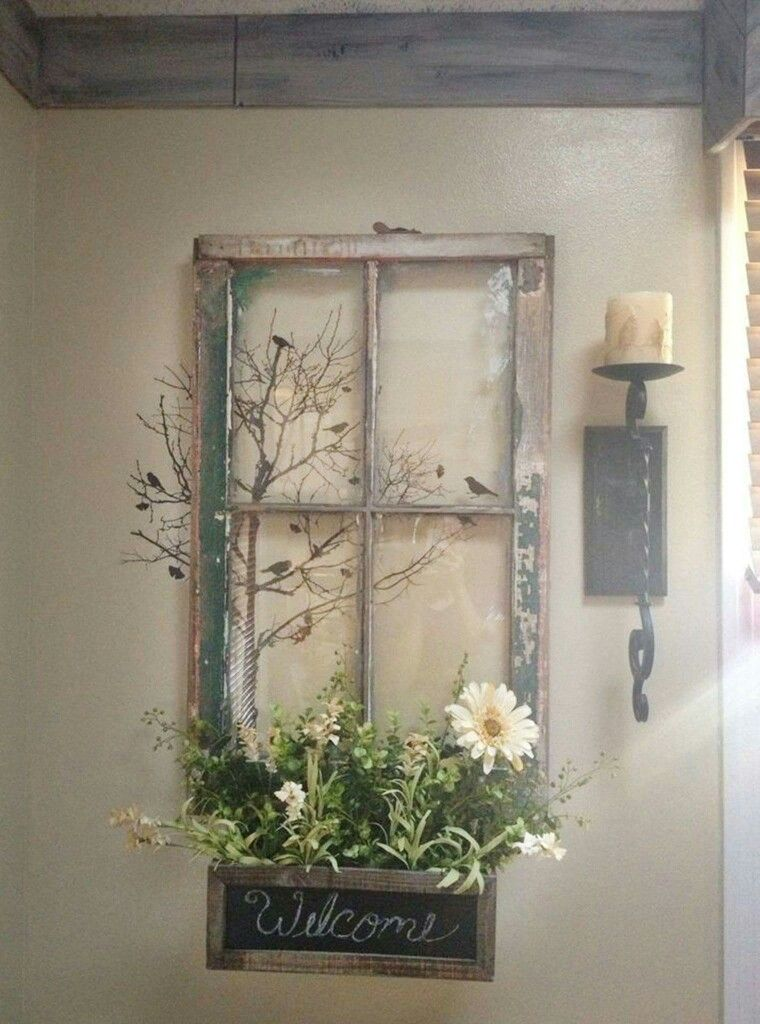 Pin By Elaine Ponti On Home Decor Porch Wall Decor Window Decor Window Crafts
