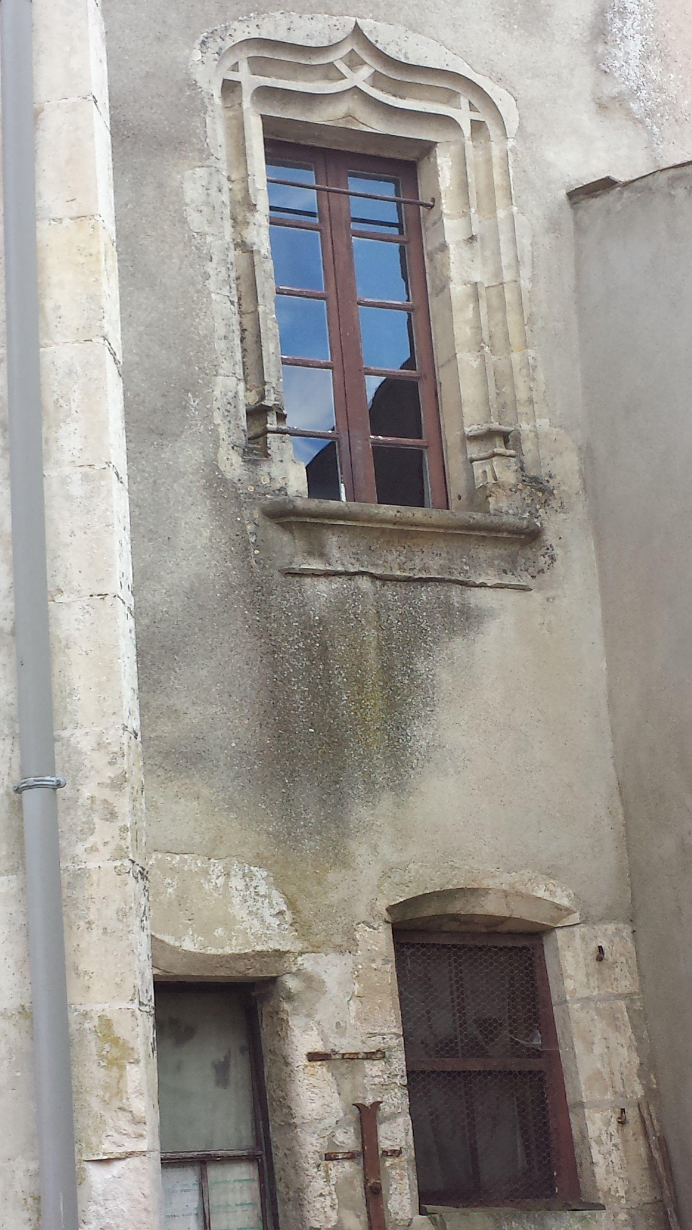 15th Century Window Frame Poitou France
