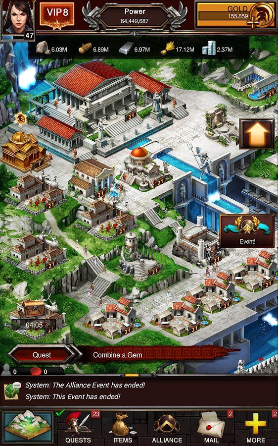 Đại Chiến Thế Giới hay Game of War Fire Age là tựa game