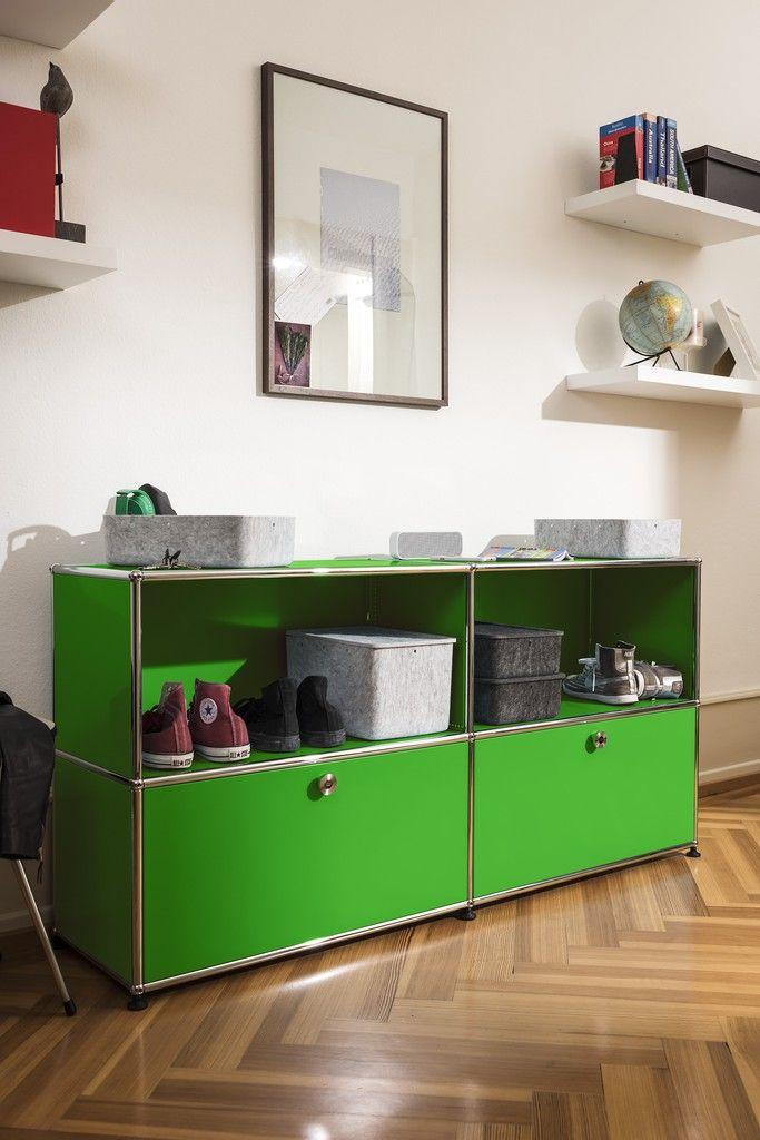 Schuhschrank USM Haller Mobilier et autres objets Pinterest
