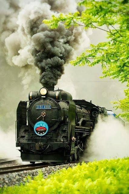 Mighty Trains in 2019 | Steam locomotive, Locomotive, Train