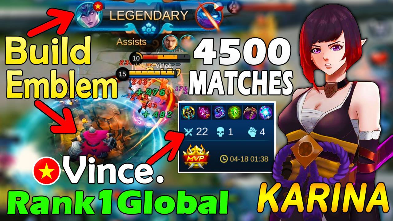 20 Matches Karina   Karina Best Build 20   Karina Top Global ...