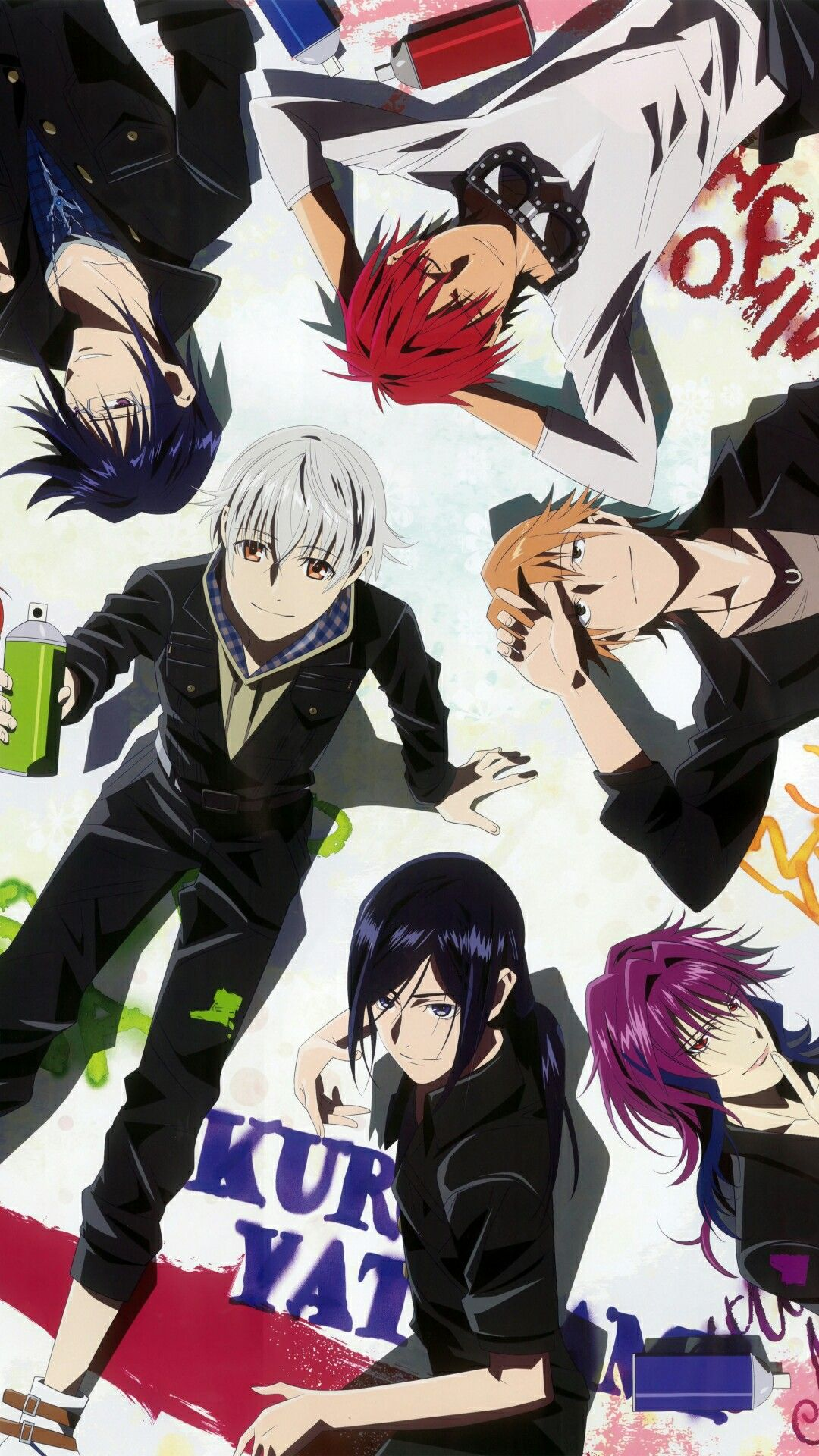 All Of Them Together K Project Anime K Project K Project Anime All anime together wallpaper