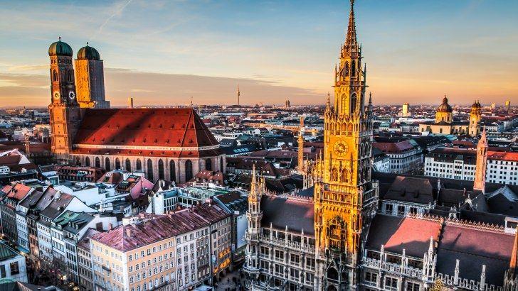 Munich Skyline Wallpaper Visit Munich Cities In Germany Germany Travel