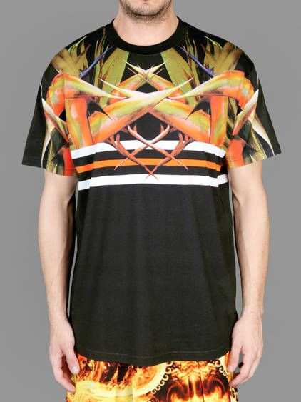 SS14 w/ Givenchy columbian fit bird of paradise printed short-sleeved tee