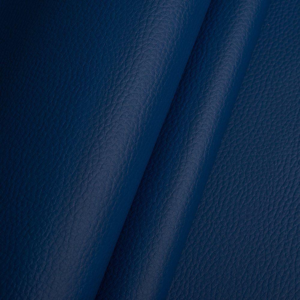 Kunstleder Lederimitat Polsterstoff Meterware Bezugsstoff geprüft  blau