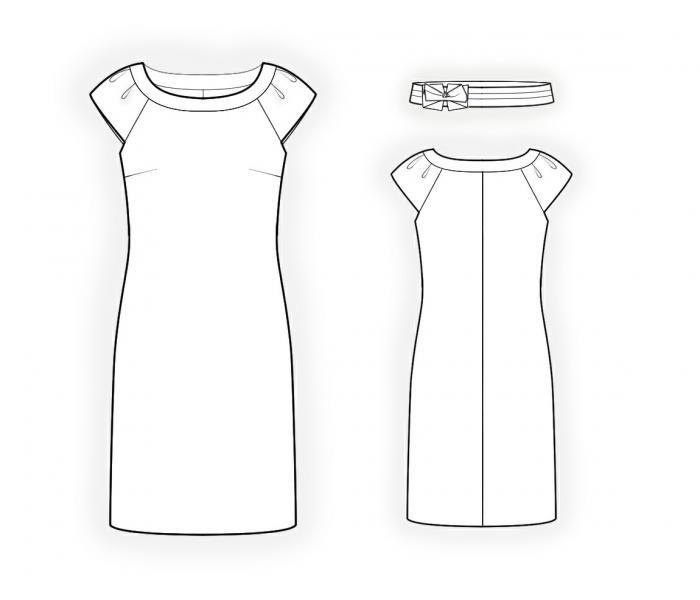 Pin On Dress Patterns