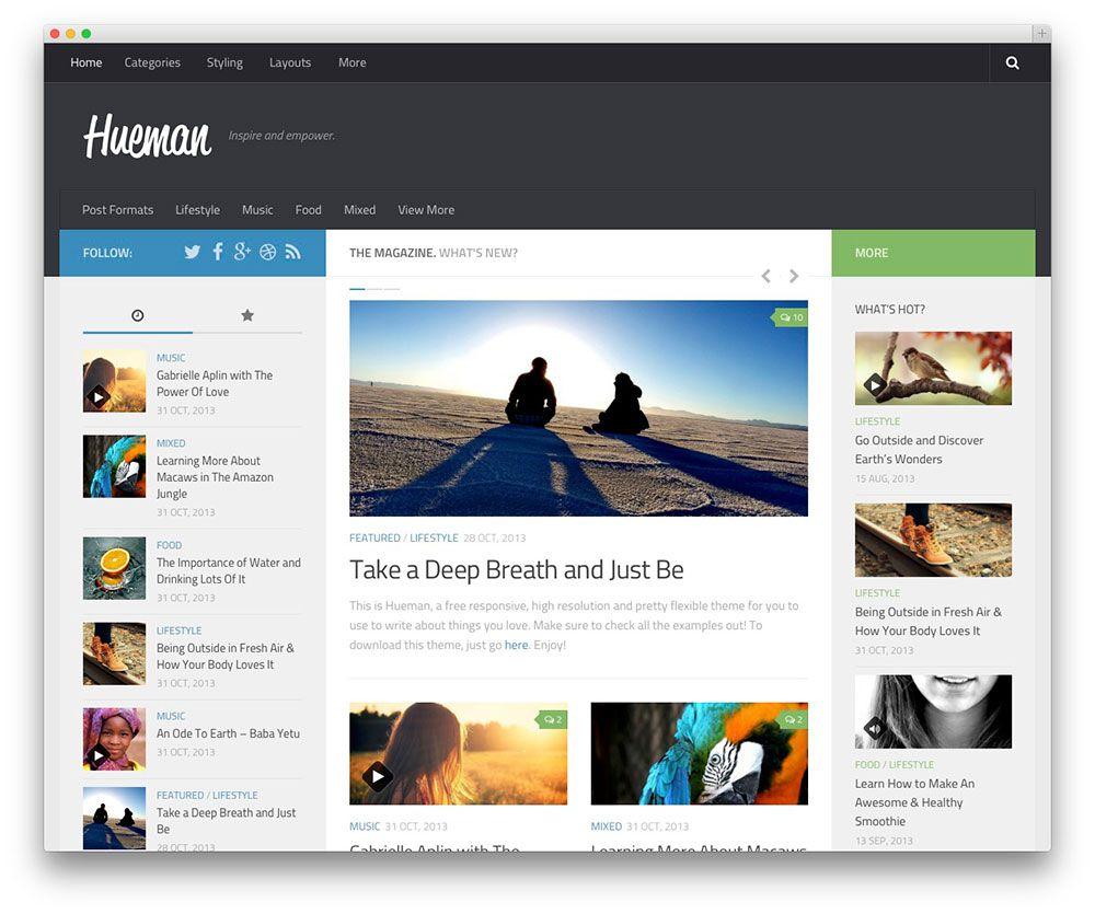 50+ Best Free Responsive WordPress Themes 2017 - Colorlib   KoC ...