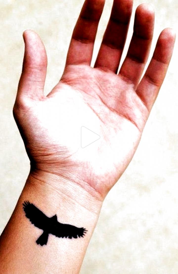 Bird Tattoo On The Wrist Tattoo Designs In 2020 Simple Wrist Tattoos Wrist Tattoos For Guys Simple Forearm Tattoos