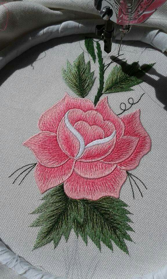 I Really Want To Learn How To Do This Embroidery Pinterest