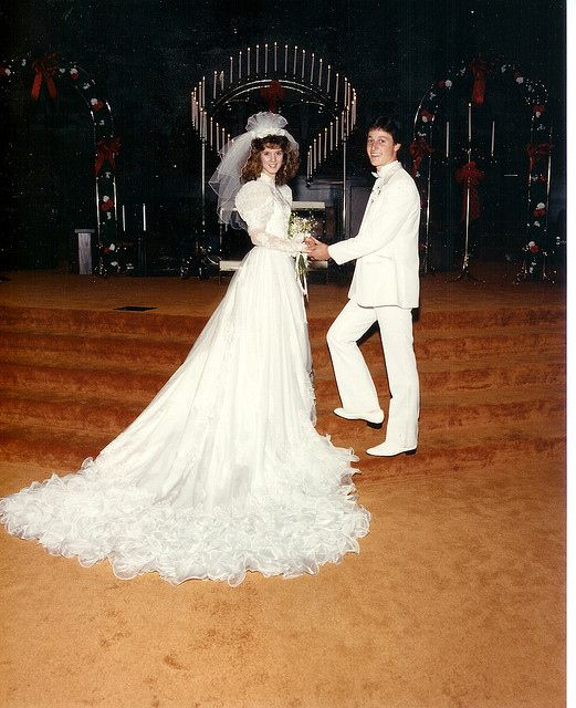 Vintage Wedding Dresses 80s: 27 Of The Most Amazing '80s Weddings You'll Ever See
