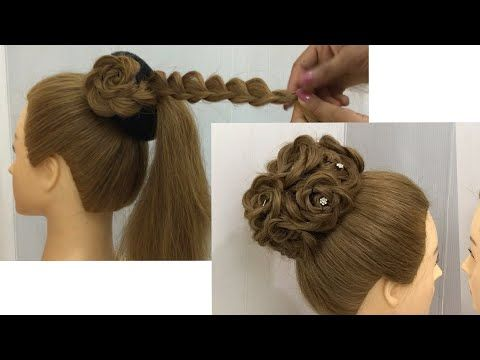 New Wedding Bun Hairstyle with Trick | Trending Hairstyle | Easy Bun Hairstyles