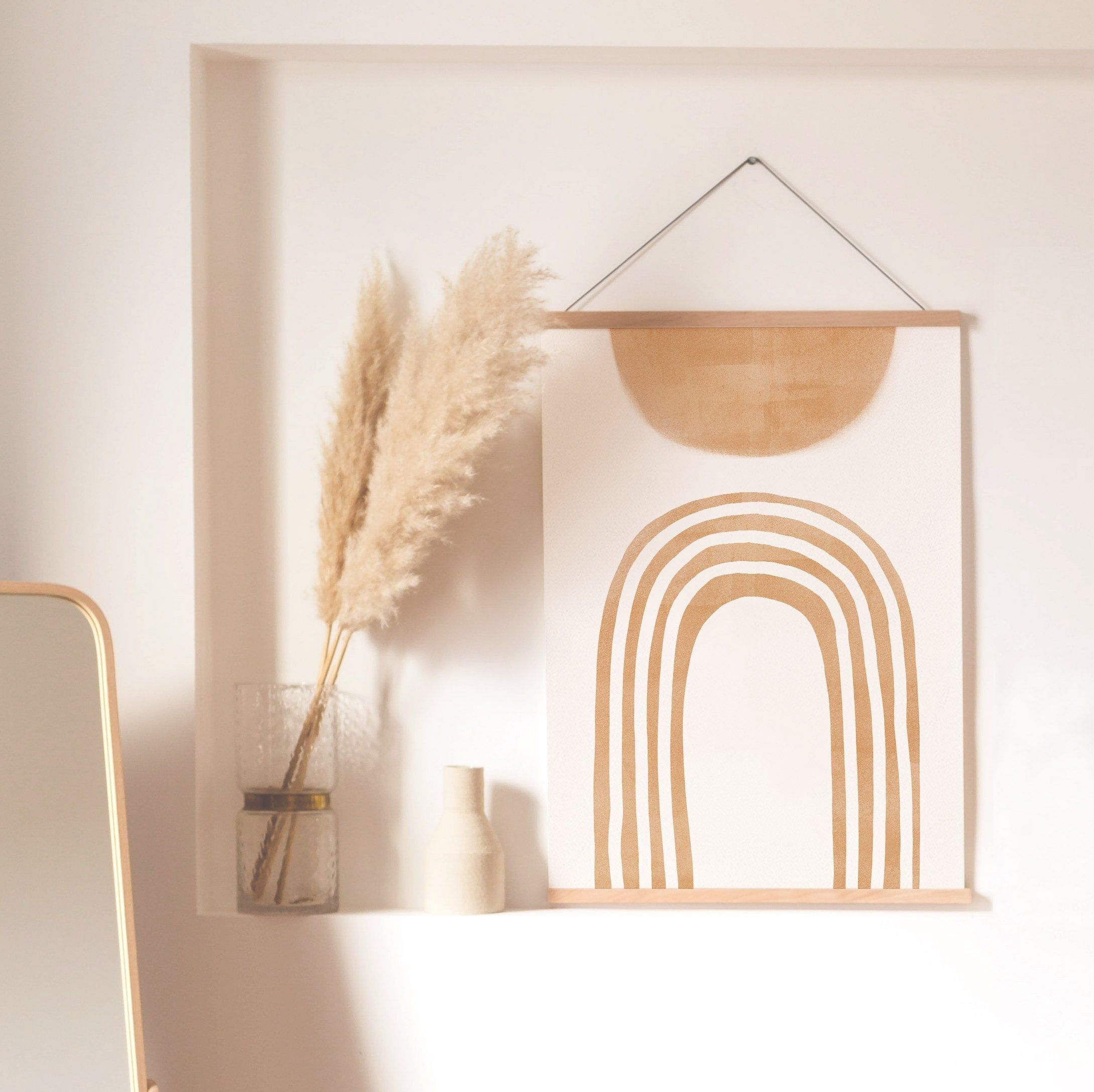 Mid Century Print Modern Arch Line Art Modern Abstract Art Etsy Wall Art Living Room Wall Decor Bedroom Wall Decor