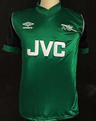 3d92d3a9f53 1982 83 Arsenal Away Shirt