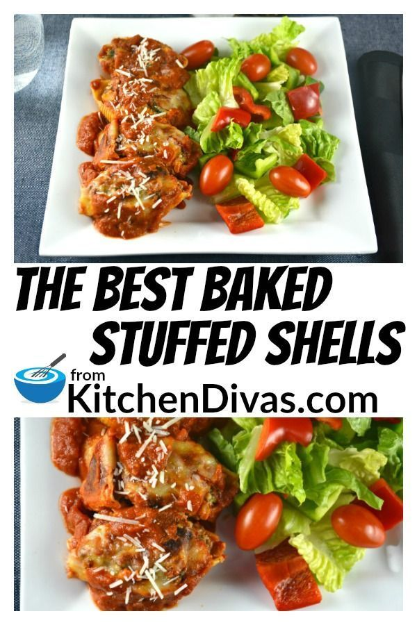 This is The Best Baked Stuffed Shells recipe you will ever
