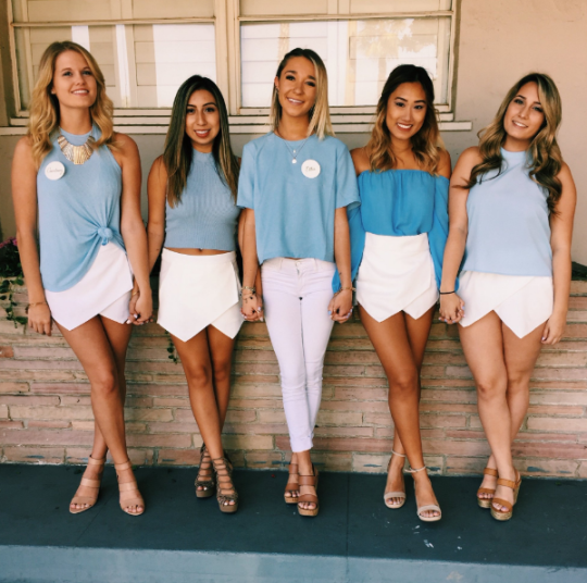 Subtly Or Not So Subtly Match With Your Sorority Some