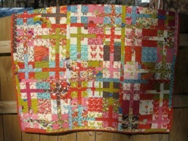 8 Disappearing Quilt Patterns is part of Cross quilt, Patch quilt, Quilt patterns, Nine patch quilt, Quilts, 9 patch quilt - Quilts are simply a work of art and with every stitch and placement of fabric, a completely different pattern is made  These 8 patterns show just how much the pattern of a quilt can change by simp…