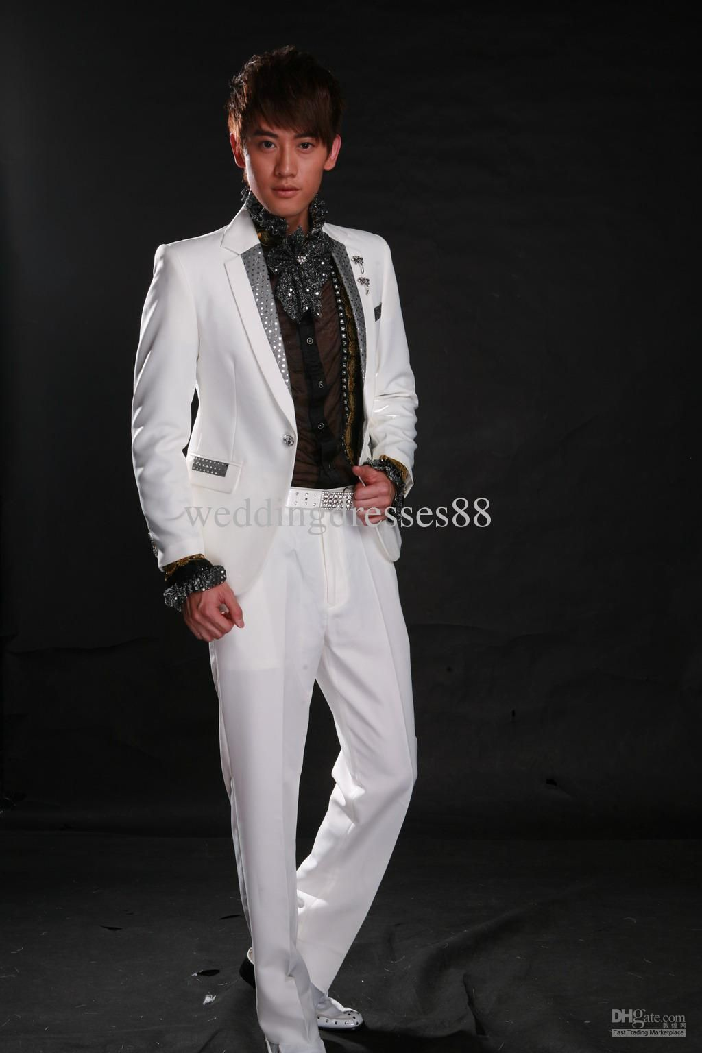 White Tuxedos BESTMAN | Wholesale Suits & Tuxedo - Buy Brand New ...