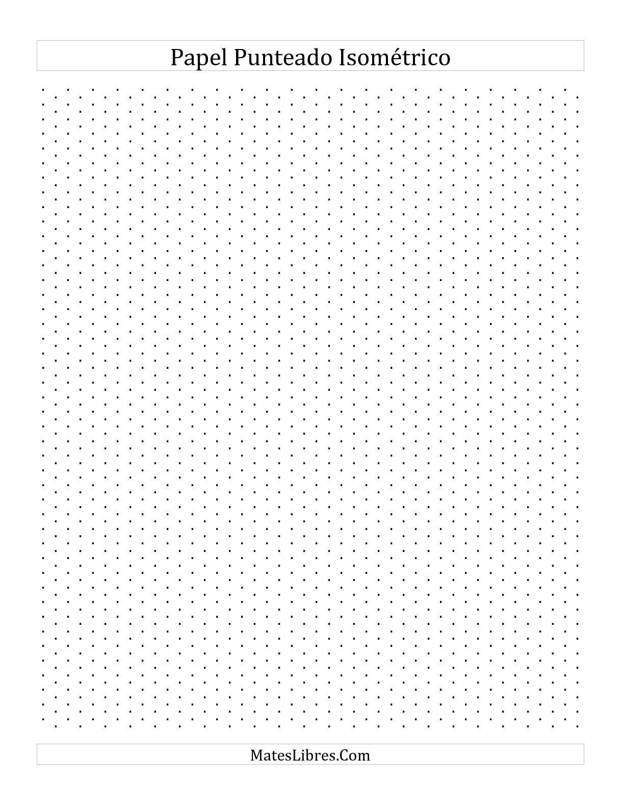La papel isomtrico punteado de 05 cm vertical todas ad la papel isomtrico punteado de 05 cm vertical todas fandeluxe Images