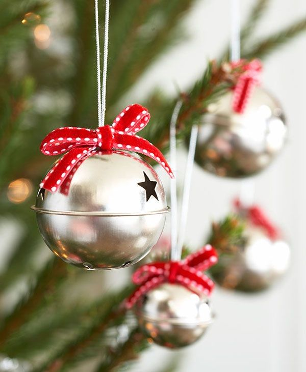 Jingle Bell Tree Decorations Fascinating Palline  Natale  Pinterest  Wonderful Time Xmas And Holidays Decorating Design