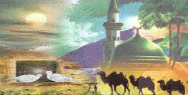 أعمال الرسول في المدينة عهد المدينة الصحيفة Painting Blog Posts
