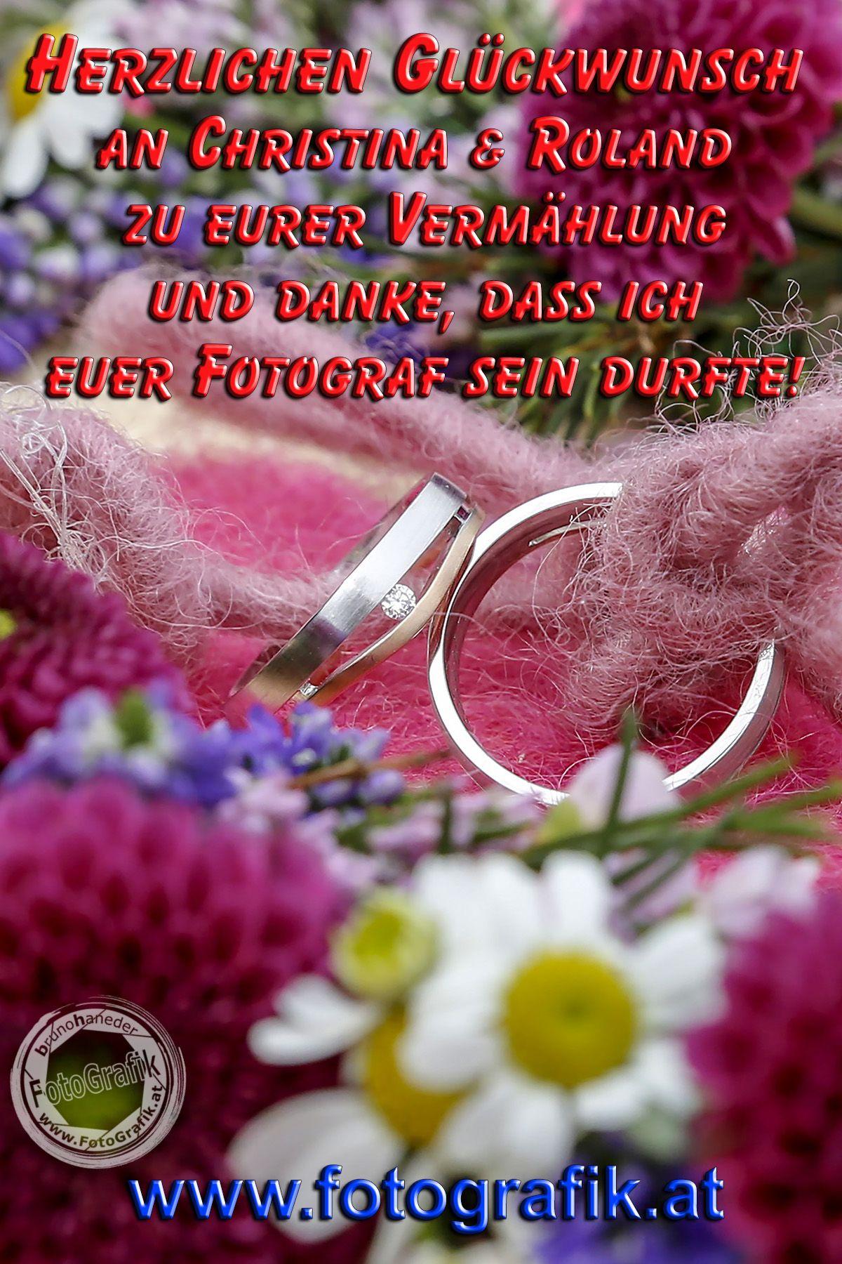 Herzlichen Glückwunsch An Christina Roland Zu Eurer