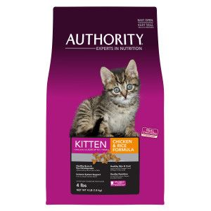 Authority Kitten Food Dry Food Petsmart Kitten Food Kittens Petsmart