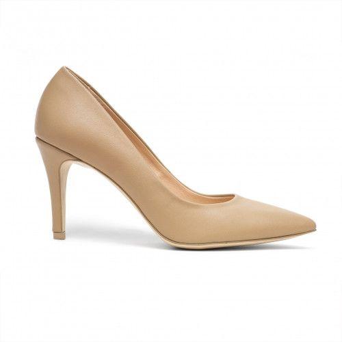 Cieliste Szpilki Na Nizszym Obcasie Heels Shoes Kitten Heels