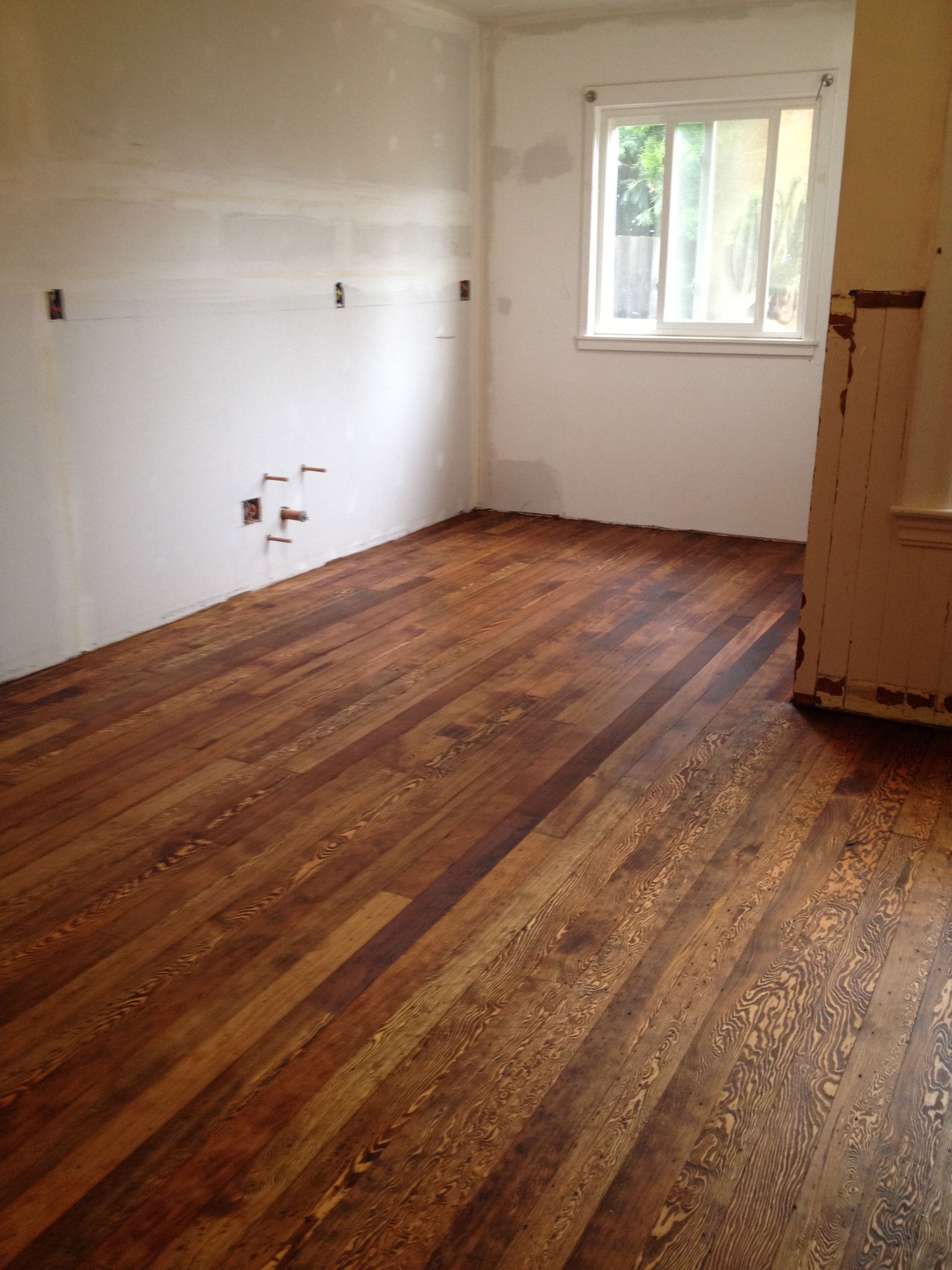 The reused, salvaged and original old-growth Douglas fir ...
