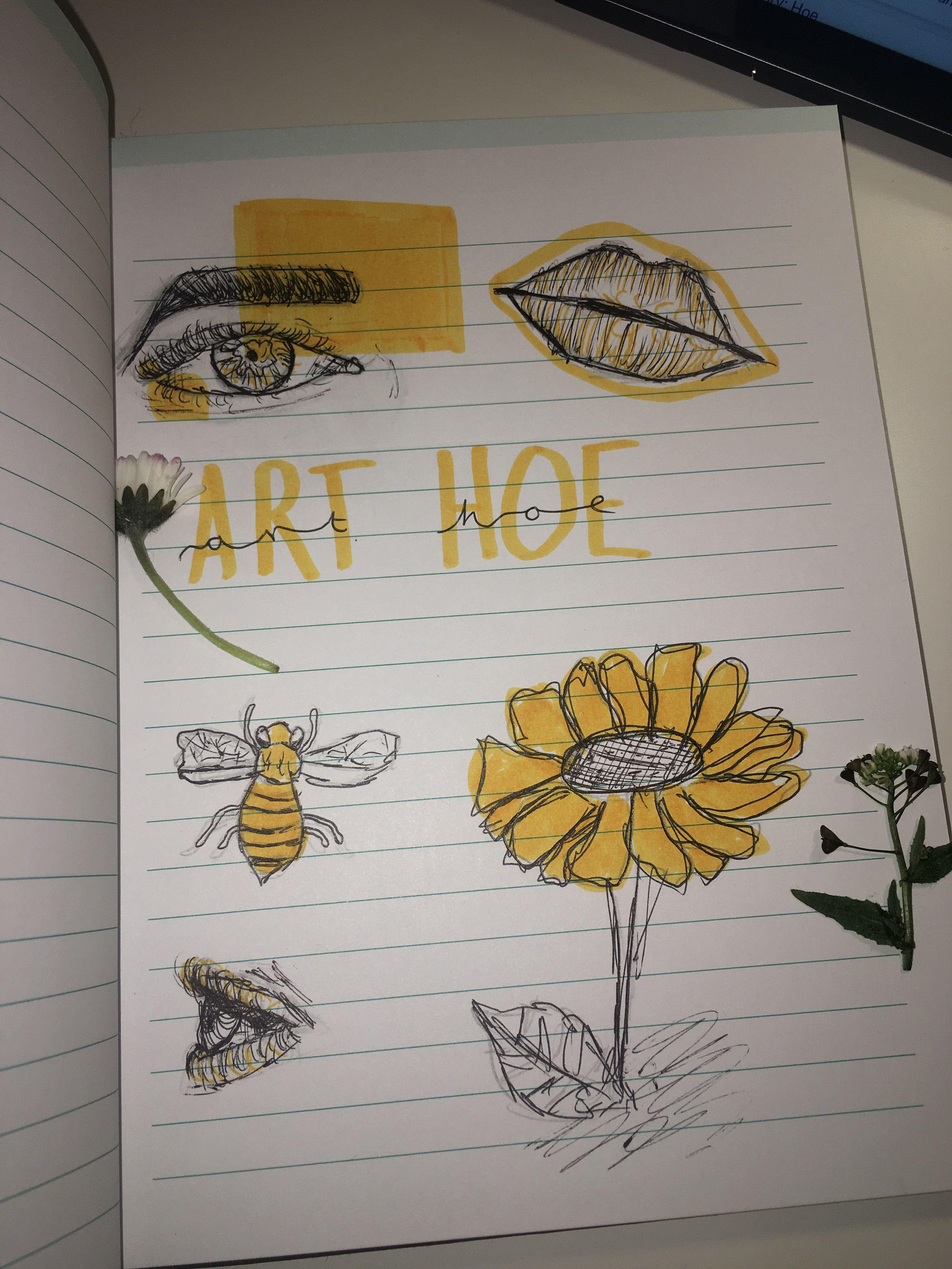 ART HOEEEE drawings by Yuki