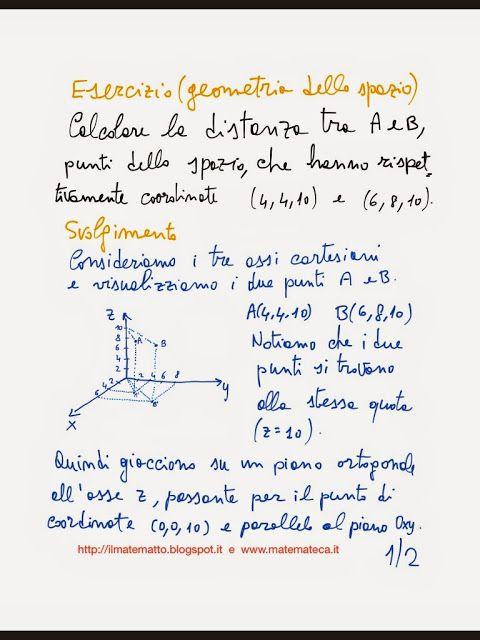 Laroutil Note Ed Esercizi Svolti Di Geometria Analiticaepub