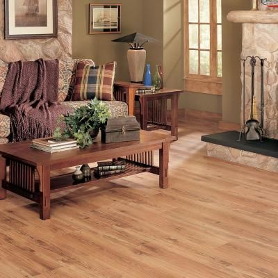 TrafficMASTER Allure 6 In. X 36 In. Country Pine Luxury Vinyl Plank Flooring  (24 Sq. Ft. / Case)
