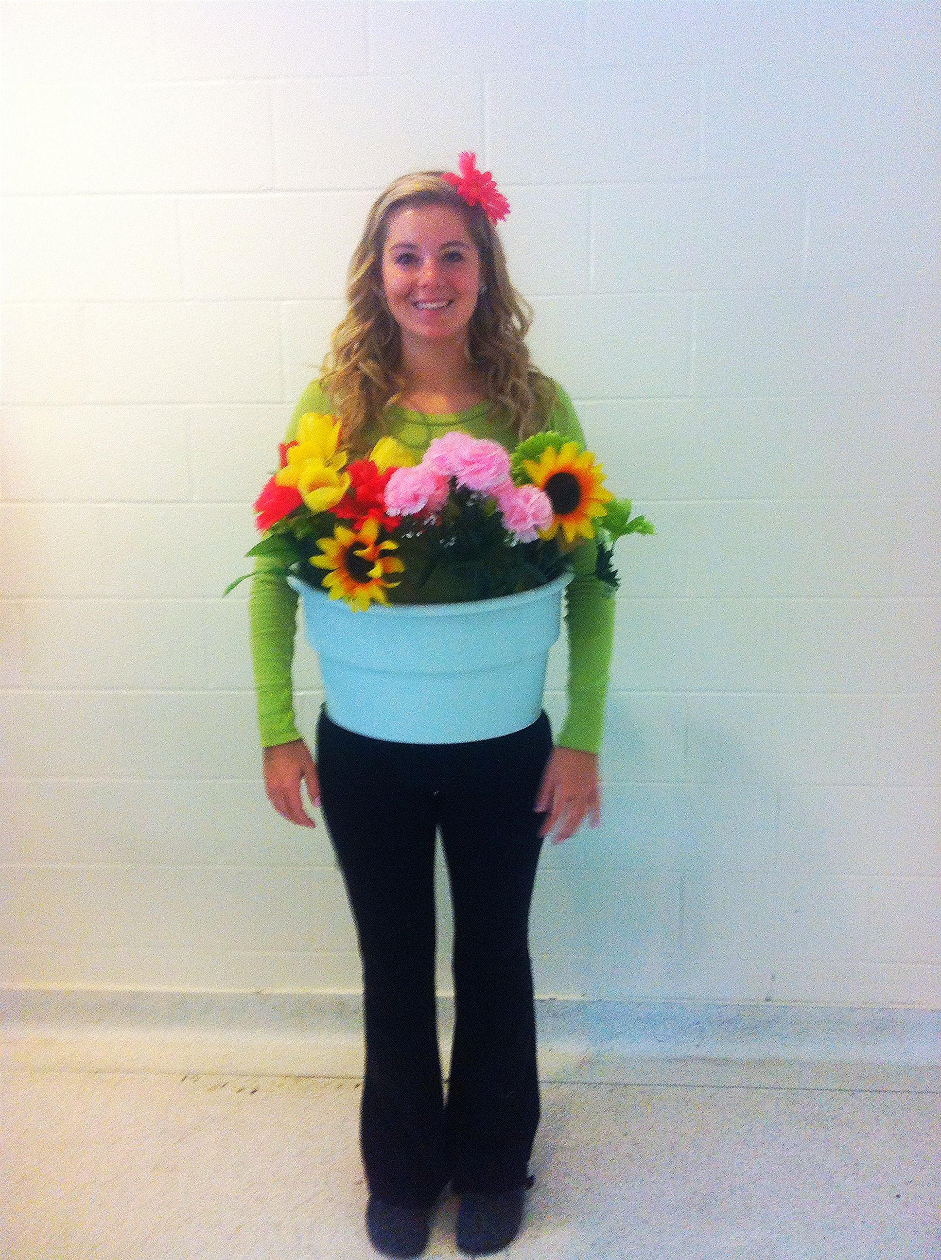 Flower pot costume … | Pinteres…