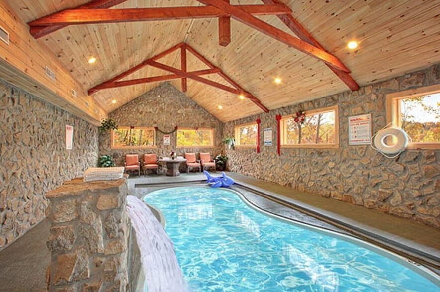 The Best Smoky Mountain Cabins With Indoor Pools For Your Vacation In 2020 Gatlinburg Cabin Rentals Tennessee Cabins Cabin Rentals