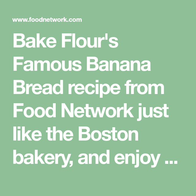 Flours famous banana bread recipe banana bread banana bread flours famous banana bread recipe banana bread banana bread recipes and overripe bananas forumfinder Image collections