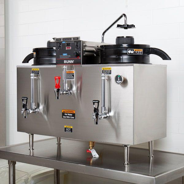 Photo of Bunn 20500.0001 U3 Twin 3 Gallon Coffee Machine Urn – 120/240V